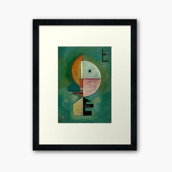 Kandinsky - Upward, famous painting Framed Art Print