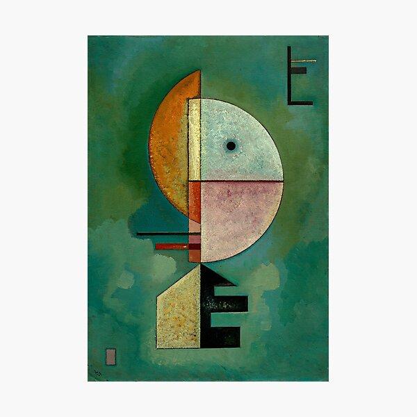 Kandinsky - Upward, famous painting Photographic Print