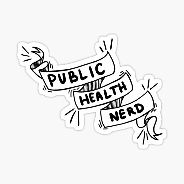 Public Health Nerd Sticker