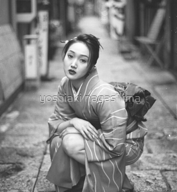 A  JAPANESE  GIRL  by yoshiaki nagashima