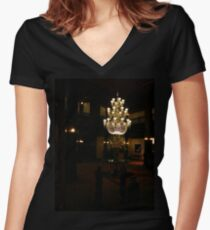 Hotel Women's Fitted V-Neck T-Shirt