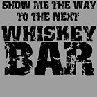 Whiskey Bar by American  Artist