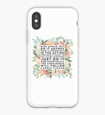THE CONFIDENCE WILL FOLLOW iPhone Case