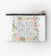 THE CONFIDENCE WILL FOLLOW Studio Pouch