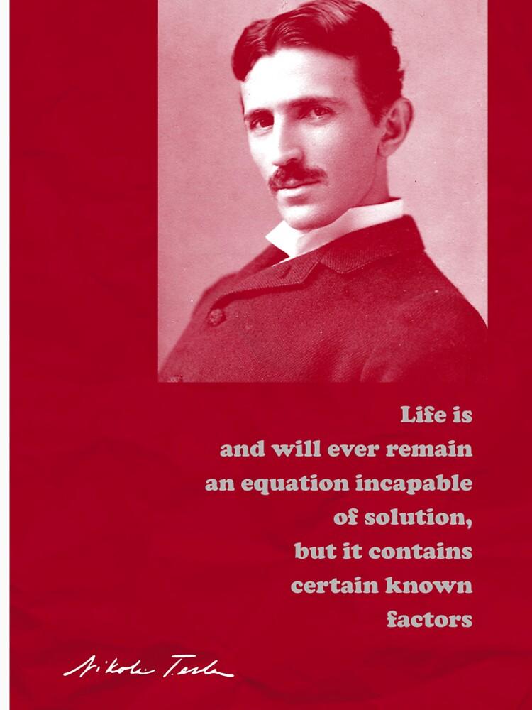 Nikola Tesla Quote 4 by pahleeloola