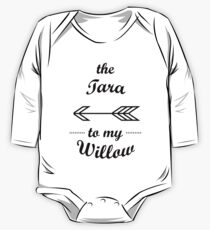 Tara to my Willow Queer Couples Shirt One Piece - Long Sleeve