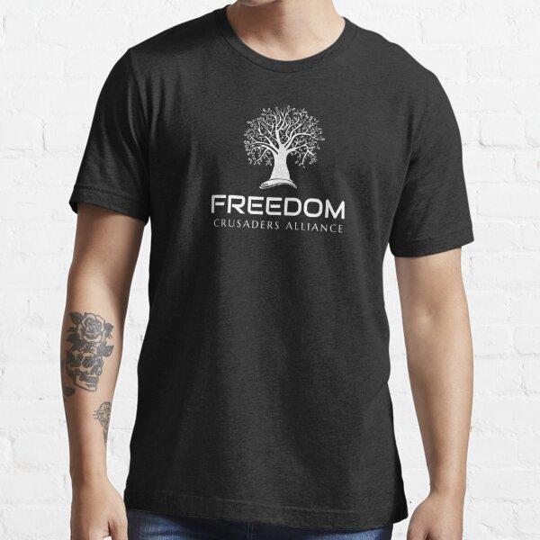 Freedom Crusaders Alliance - Weiß Essential T-Shirt