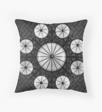 Ellis Island Chandelier in the Registry Hall Throw Pillow