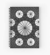 Ellis Island Chandelier in the Registry Hall Spiral Notebook