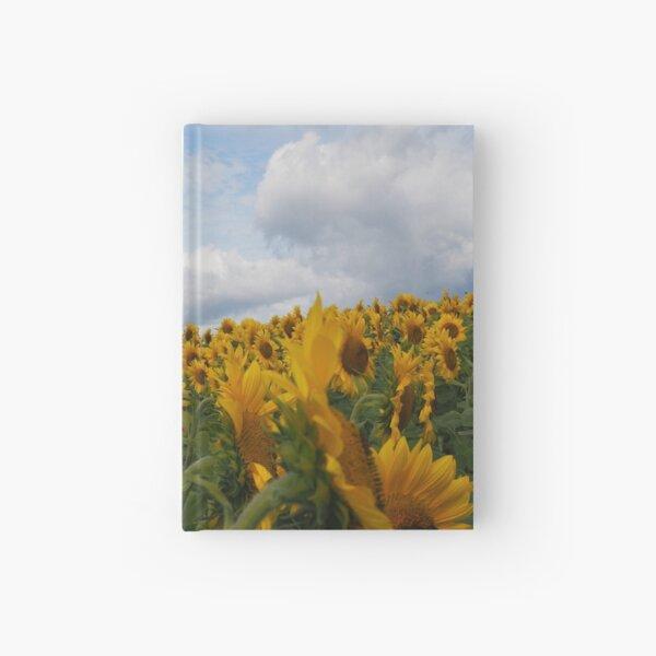 Sunflower Garden Hardcover Journal