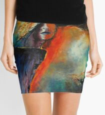 Renaître, featured in Painters Universe Mini Skirt