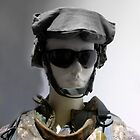 Soldier, Selective Colored by WildestArt