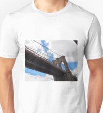 Brooklyn Bridge from DUMBO Unisex T-Shirt