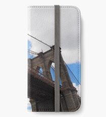 Brooklyn Bridge from DUMBO iPhone Wallet/Case/Skin