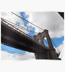 Brooklyn Bridge from DUMBO Poster