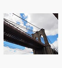 Brooklyn Bridge from DUMBO Photographic Print