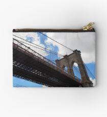 Brooklyn Bridge from DUMBO Studio Pouch