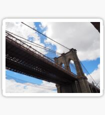 Brooklyn Bridge from DUMBO Sticker