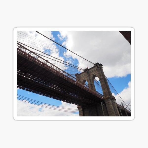 Brooklyn Bridge from DUMBO Sticker