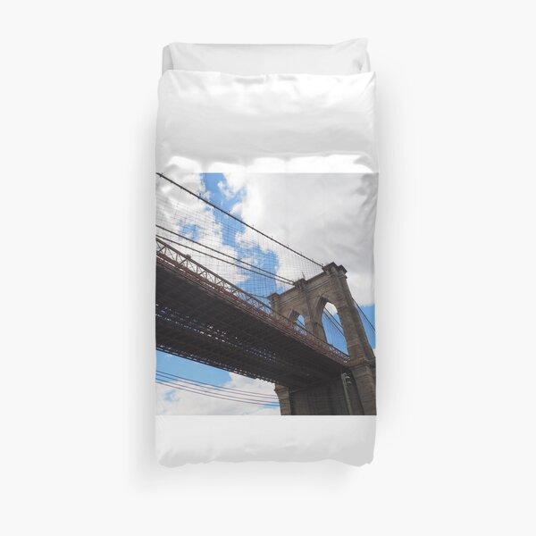 Brooklyn Bridge from DUMBO Duvet Cover