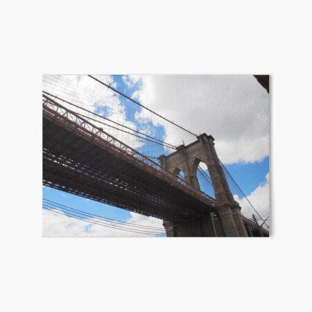 Brooklyn Bridge from DUMBO Art Board Print