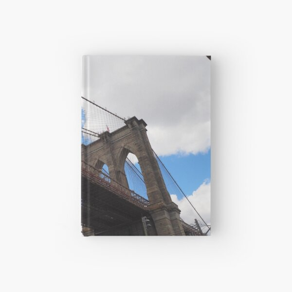 Brooklyn Bridge from DUMBO Hardcover Journal