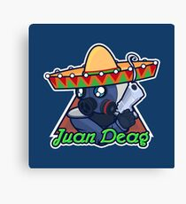 Juan Deag - Counter-Terrorist Canvas Print