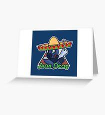 Juan Deag - Counter-Terrorist Greeting Card