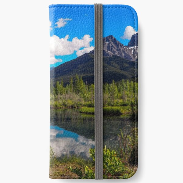 Canmore, Alberta, Canada iPhone Wallet