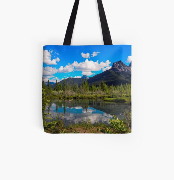 Canmore, Alberta, Canada All Over Print Tote Bag