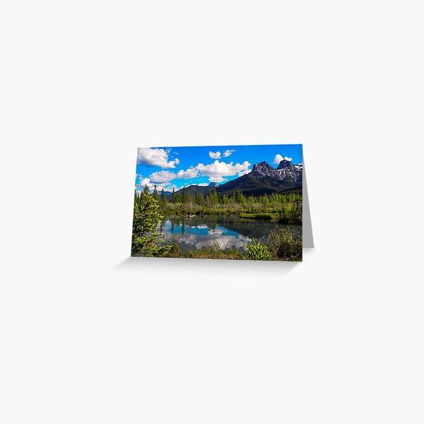 Canmore, Alberta, Canada Greeting Card