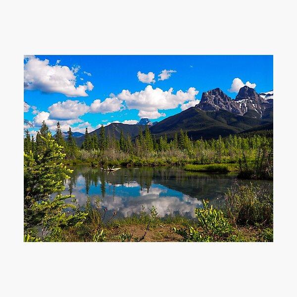 Canmore, Alberta, Canada Photographic Print