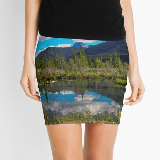 Canmore, Alberta, Canada Mini Skirt