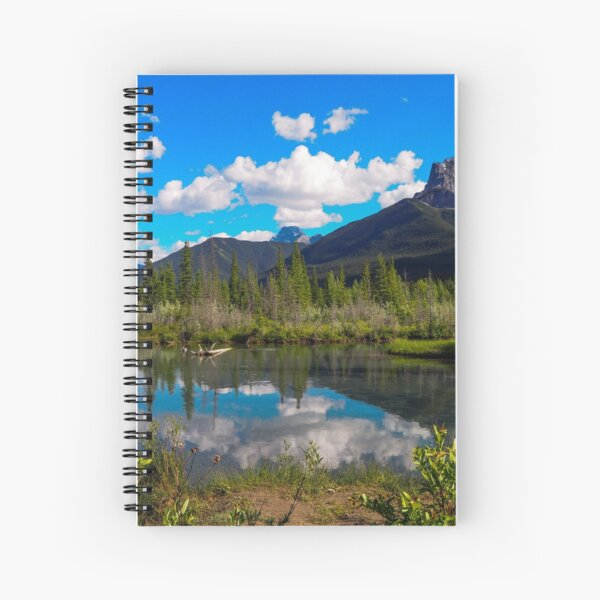 Canmore, Alberta, Canada Spiral Notebook