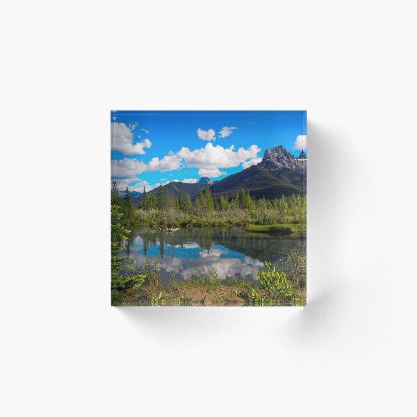 Canmore, Alberta, Canada Acrylic Block