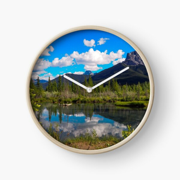Canmore, Alberta, Canada Clock