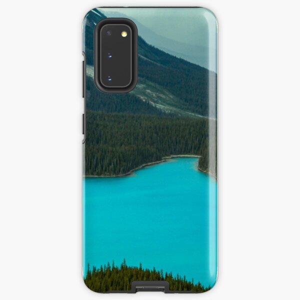 Moraine Lake Banff Icefields Parkway Samsung Galaxy Tough Case