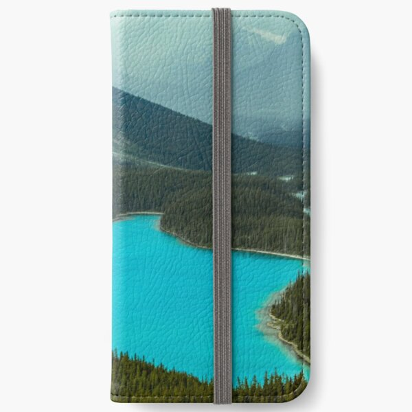 Moraine Lake Banff Icefields Parkway iPhone Wallet