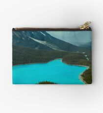 Moraine Lake Banff Icefields Parkway Studio Pouch