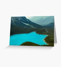 Moraine Lake Banff Icefields Parkway Greeting Card