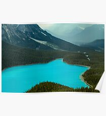 Moraine Lake Banff Icefields Parkway Poster