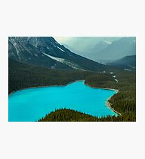 Moraine Lake Banff Icefields Parkway Photographic Print