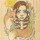Desert Fox by LeaBarozzi