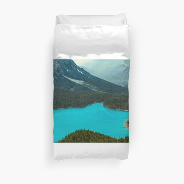 Moraine Lake Banff Icefields Parkway Duvet Cover