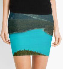 Moraine Lake Banff Icefields Parkway Mini Skirt