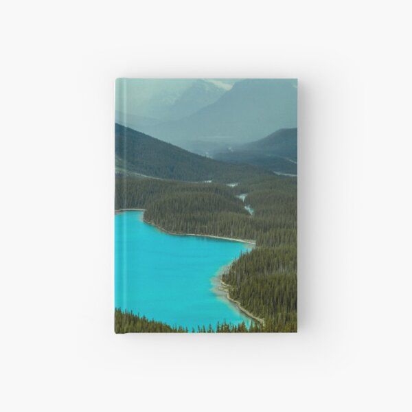 Moraine Lake Banff Icefields Parkway Hardcover Journal