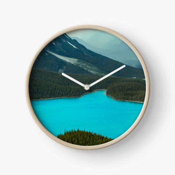 Moraine Lake Banff Icefields Parkway Clock