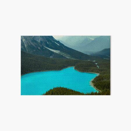 Moraine Lake Banff Icefields Parkway Art Board Print