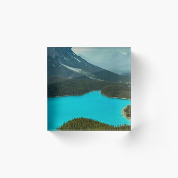 Moraine Lake Banff Icefields Parkway Acrylic Block