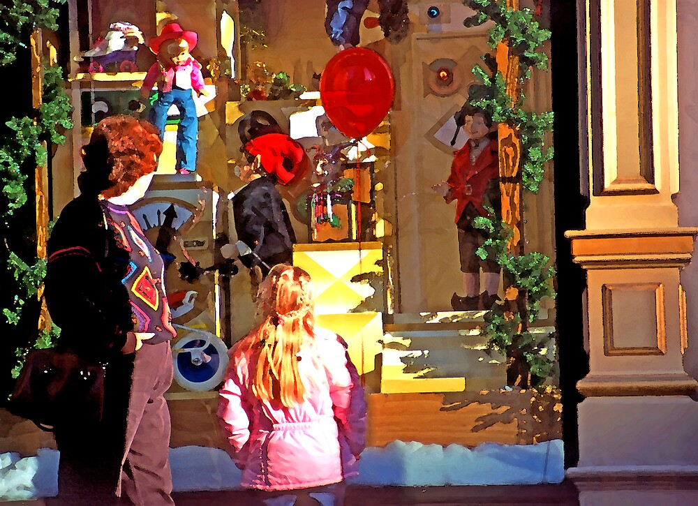 Christmas Window Display - 508 views by SteveOhlsen